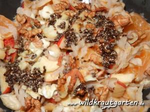 Topinambursalat mit Chiasamen